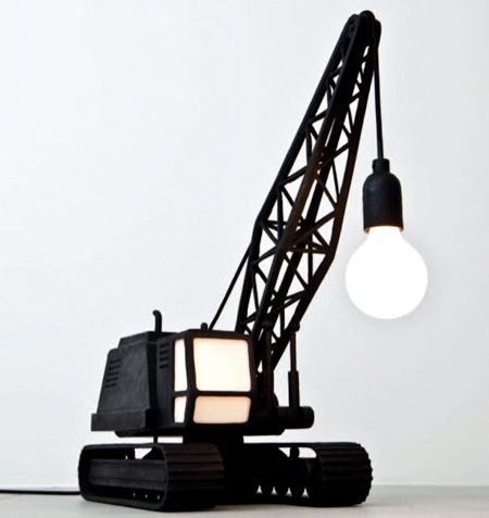 Cool lamp design