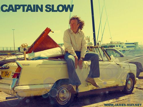 Seriously, who doesn't want to sail a car? #JamesMay #TopGear