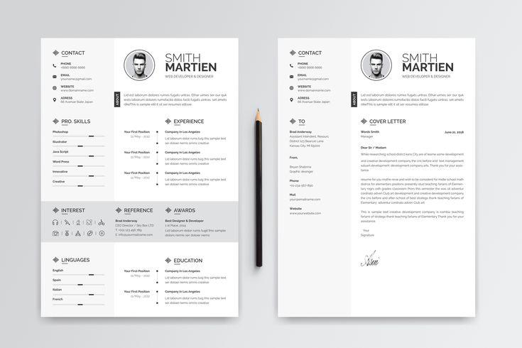 smith martine resume template   ad  martine  smith