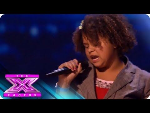 Rachel Crow - Audition 1 - THE X FACTOR 2011 Love this girl!