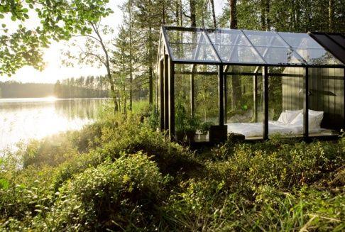 """Zimmer mit Ausblick: Das Modulsystem """"Garden Shed"""" von Kekkilä gibt es bereits ab ca. 2.900 Euro."""