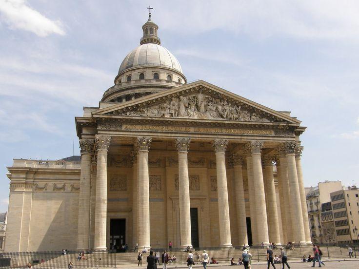 Paris Architecture, France, The Pantheon