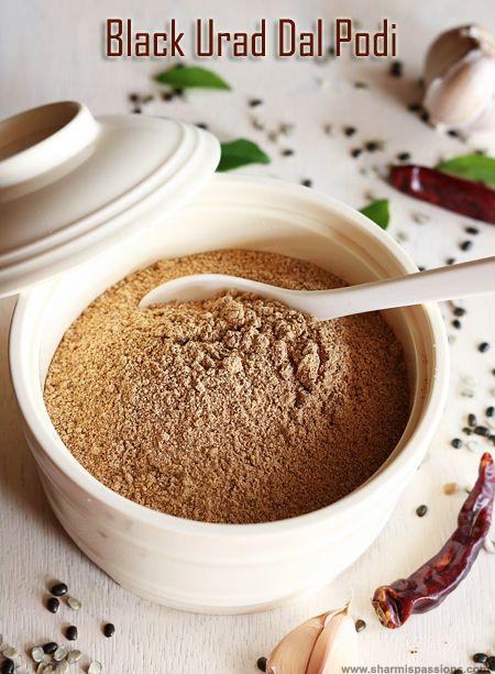 We usually make idli podi with white whole urad dal and chana dal as main ingredients.This idli podi is my ammamas recipe it uses black ur...
