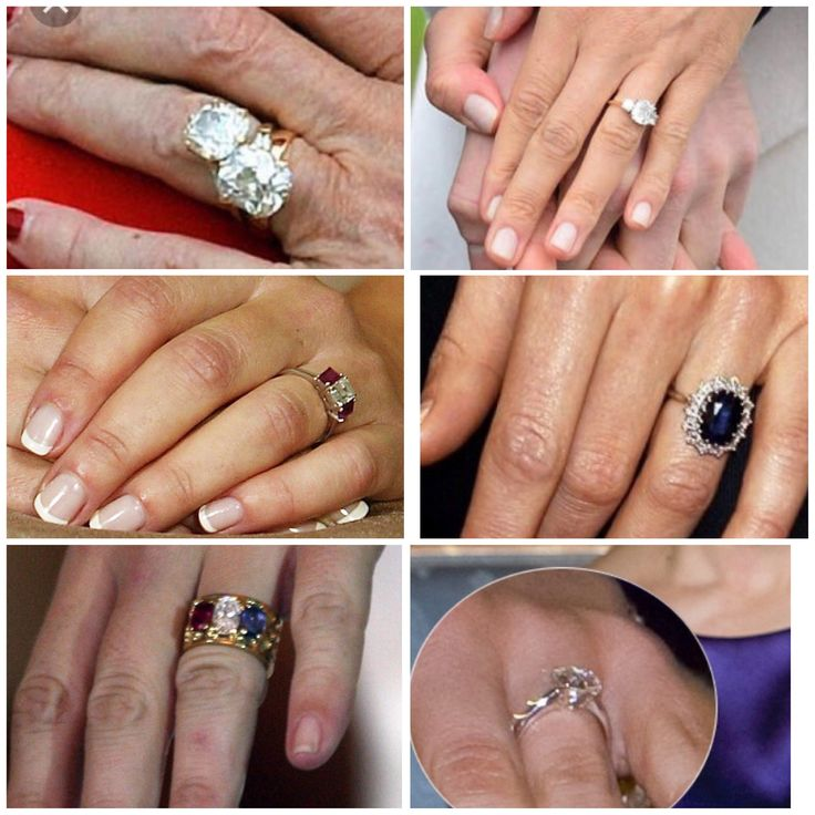 Royal Engagement rings Queen Margrethe Denmark  Princess Megan England Crown Princess Mary Denmark Crown Princess Kate England Princess Marie Danmark Crown Princess Victoria Sweden