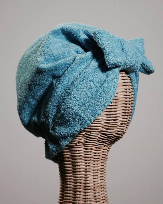 Bandalina Bath Turban Turquoise