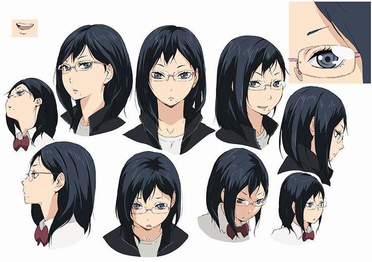 Nuevos diseños de personajes del Anime Haikyuu!!                              …