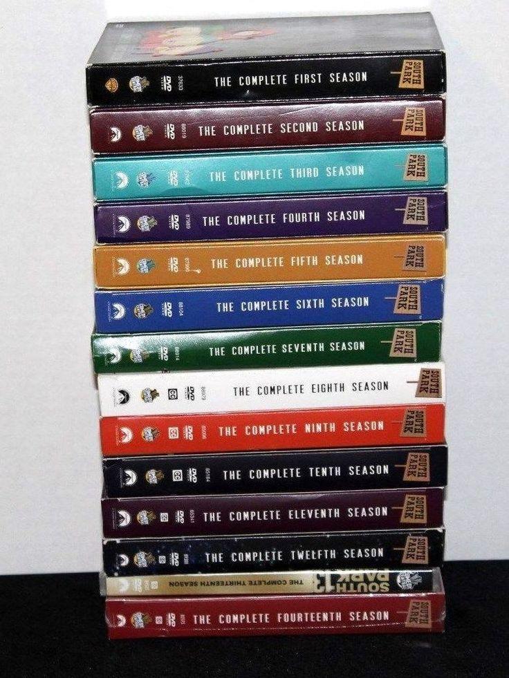 South Park DVD Season 1 2 3 4 5 6 7 8 9 10 11 12 13 14