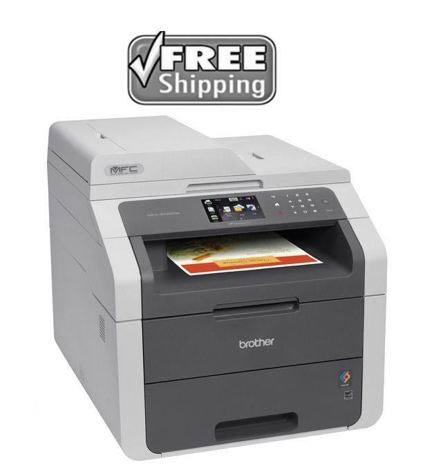 Printers 1245 New Brother Mfc9130cw Wireless Color Print Scan