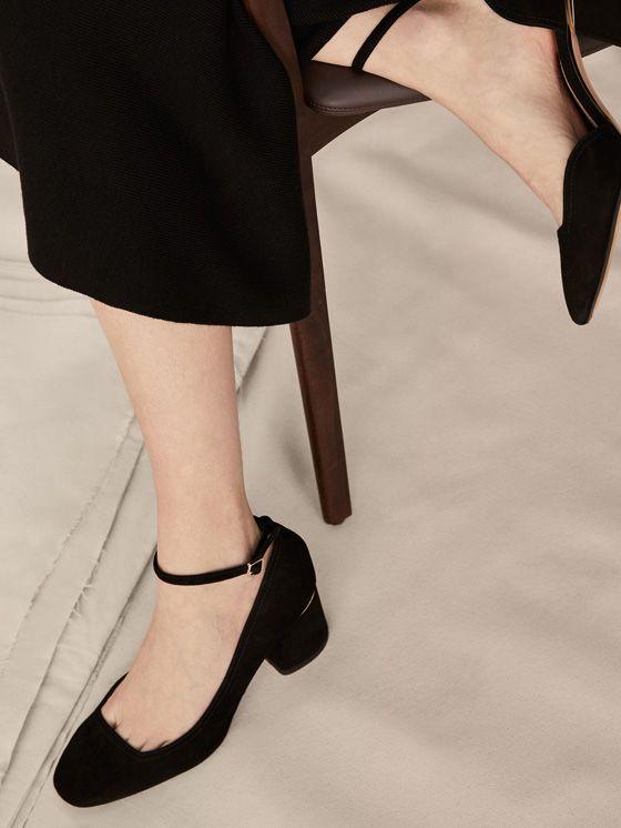 Los zapatos de mujer más sofisticados en Massimo Dutti. Descubra la  colección AW17  botines de piel cebfef1453e0