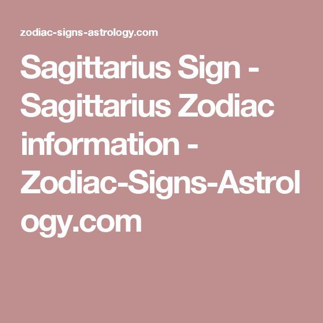 Sagittarius Sign - Sagittarius Zodiac information - Zodiac-Signs-Astrology.com