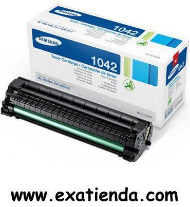 Ya disponible T?ner Samsung d1042s negro    (por sólo 70.89 € IVA incluído):   -Compatible con impresoras: ML1660/1665 -Color: negro -1500 paginas aprox. Garantía de 24 meses.  http://www.exabyteinformatica.com/tienda/1414-toner-samsung-d1042s-negro #samsung #exabyteinformatica
