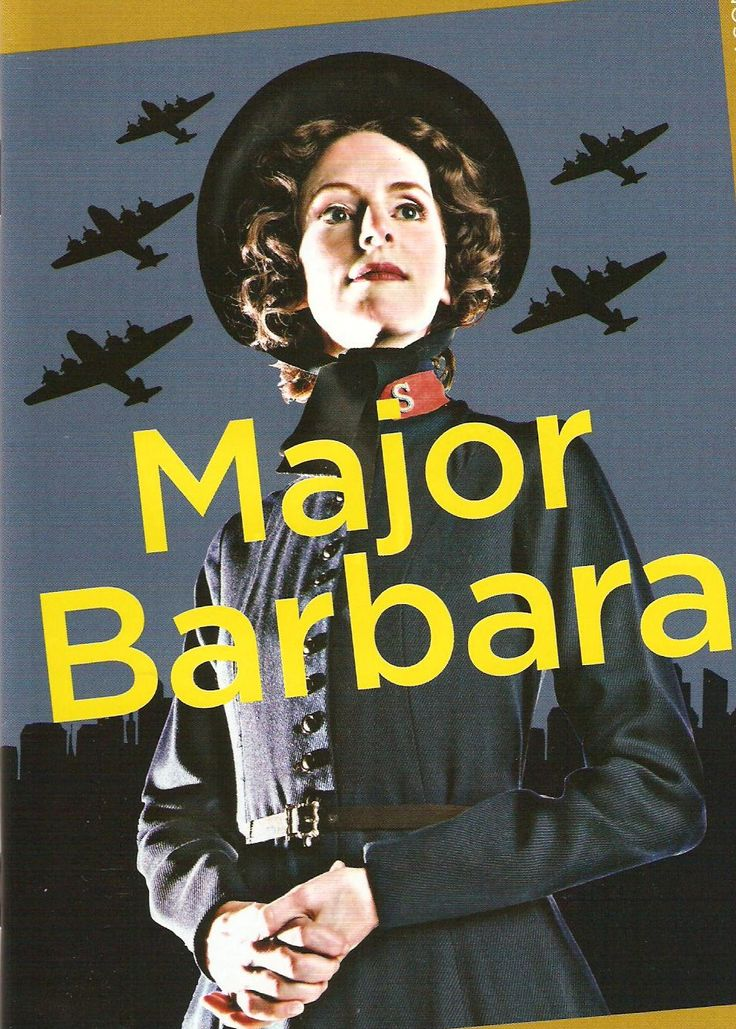 an analysis of major barbara by george bernard shaw Bill walker - a rough customer of about twenty-five who appears at the army shelter to reclaim his converted girlfriend and bully its staffbill speaks a thick cockney accent that shaw.