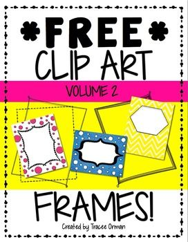 Free Clip Art Frames & Borders for Commercial Use, Volume 2Here's my second package of free frames and borders. I included the terms of use, so please make sure to read them. These may be used for commercial products with a link back. Thanks so much & enjoy!Download Vol. 1 here:Free Frames Borders Clip Art Graphics Volume 1You might like:Huge Bundle of Clip Art Frames/TagsSchool Supplies Clip Art BundleDoodle Frames: Just a Little Sketchy BundleFind additional bundles here:Clip Art with ...
