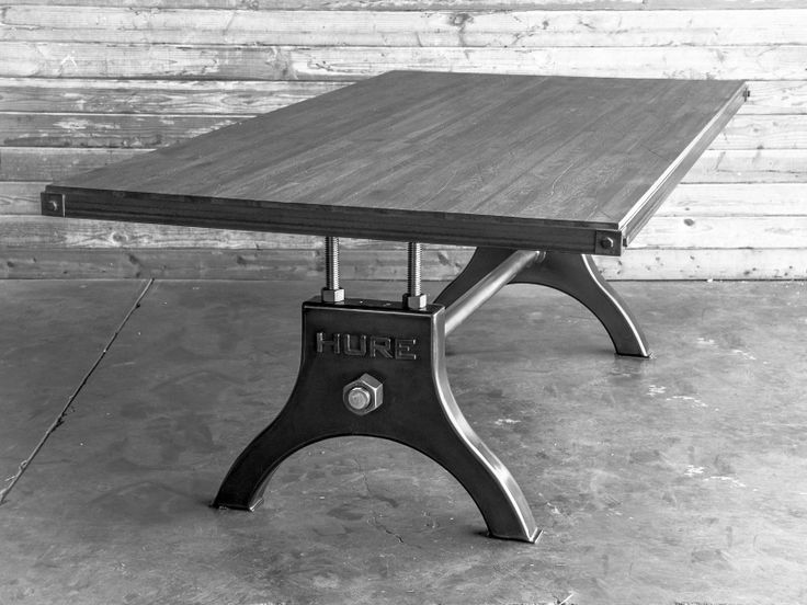 Improved Hure table design, by Vintage Industrial in Phoenix...