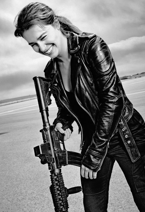 86 best images about terminator doomsday resident evil - Sarah connor genisys actress ...