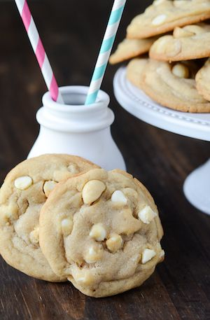The Best White Chocolate Macadamia Nut Cookies - making these right now. the dough is amazingly delicious