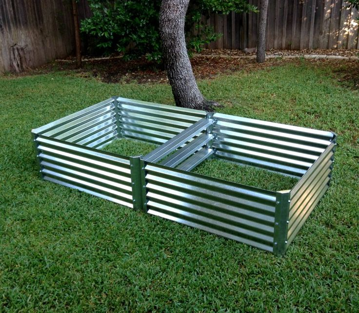 Unique Raised Bed Garden Ideas: Metal Garden Beds. 100% Recyclable Galvanized Steel