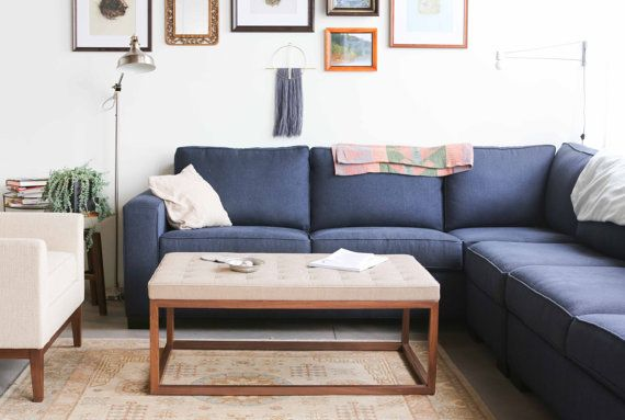 Best 25+ Upholstered ottoman coffee table ideas on ...