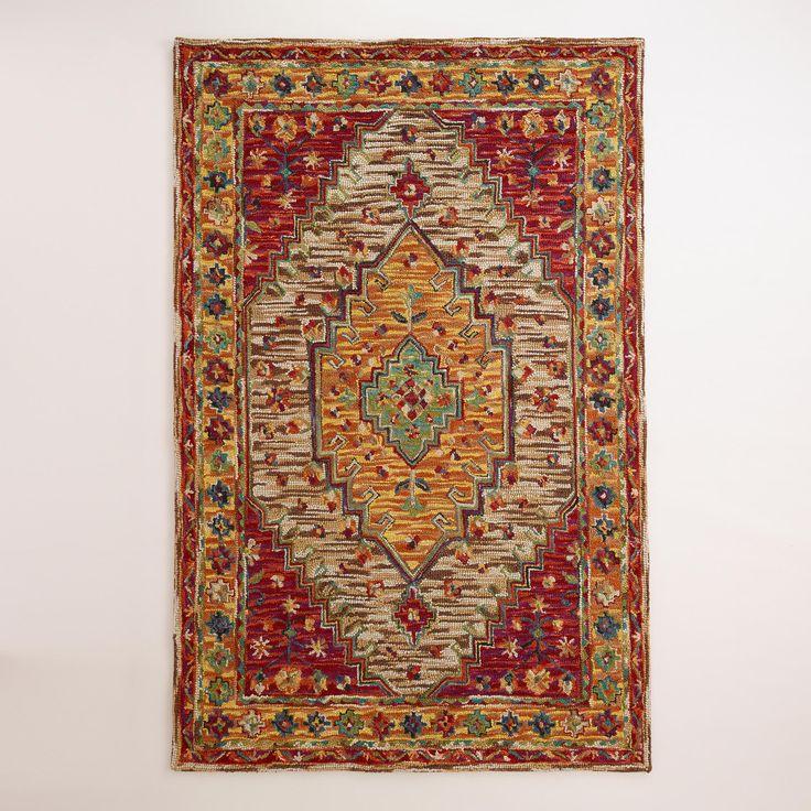 Zahra Caravan Tufted Persian-Style Rug | World Market