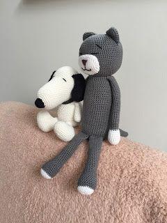 El Búho Crochet : #Snoopy & #Amineko #crochet#amigurumi#snoopy