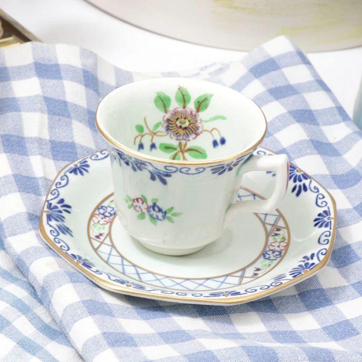 Vintage English Teacup & Saucer