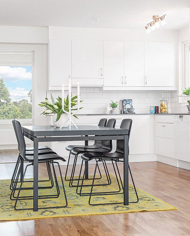 Kök i Riksbyggens Brf Porslinet i Gustavsberg, Värmdö