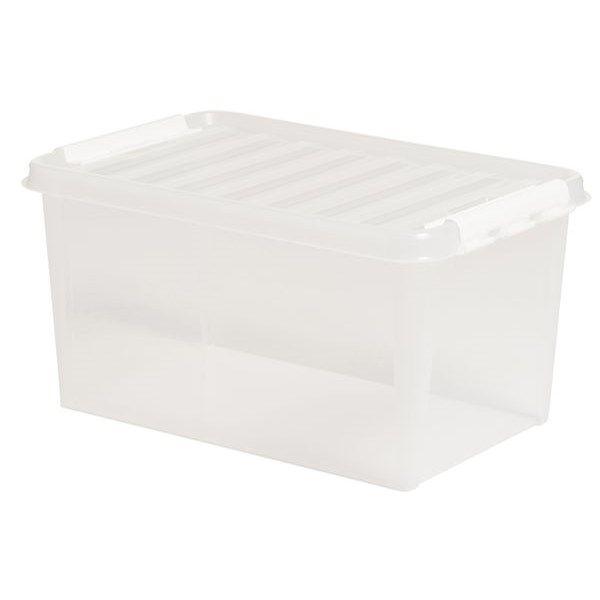 Förvaringslåda med lock Smartstore Classic 45 (47 L) - Småförvaring - Rusta