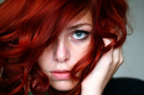 Hair Colors, Red Hair, Haircolor, Shades Of Red, Blue Eye, Hair Style, Redheads, Redhair, Red Head