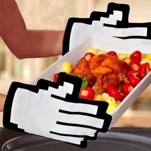 Guantes para el horno pixelados    http://www.regatron.es/regalos-originales/para-el-hogar/guantes-para-horno-pixel.html