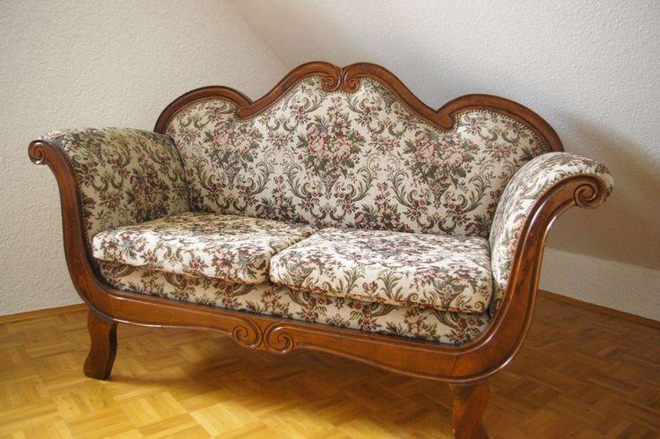 Sofa nussbaum im barock antik stil stuff for Sofa orientalischer stil