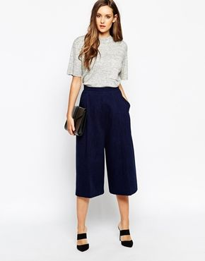 Whistles Denim Culottes