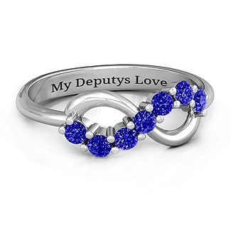 A Thin Blue Line for a wife of a deputy.