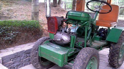 Malotraktor domácej výroby - 1