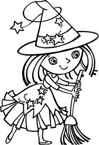 SORCIERE  dessin de Marianne