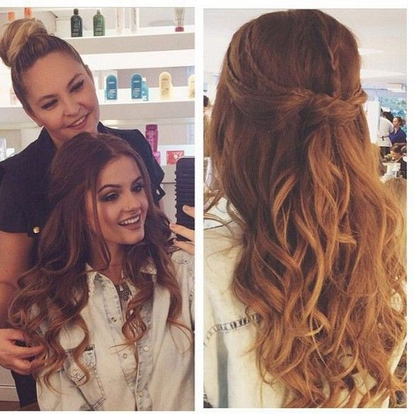 Elegant hairstyle for prom night in this year 41