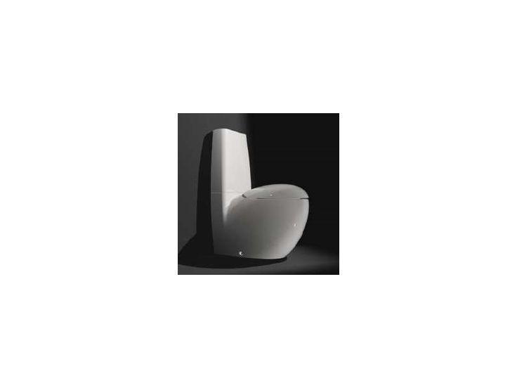 8229764000001 Illbagno Alessi  Ilbagno Alessi One Gulvstående toalett 720x390 mm. Hvit m/Wondergliss