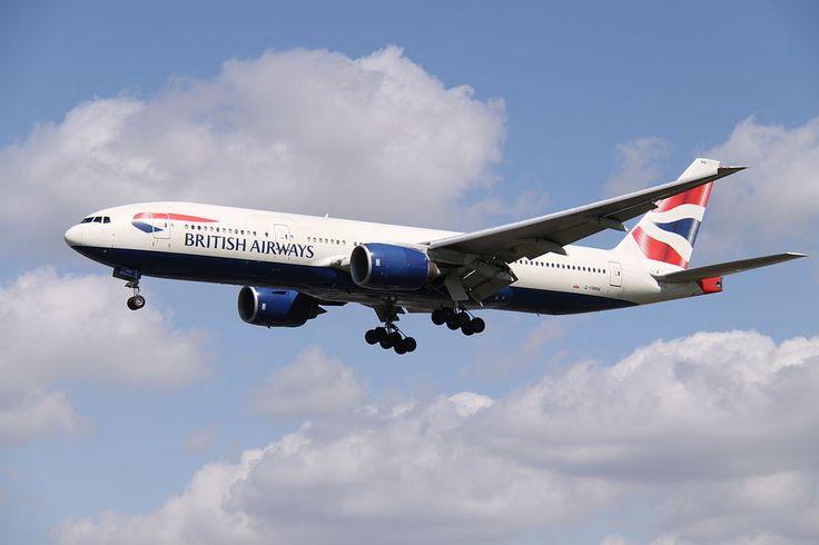 British Airways va zbura cu Boeing 777-200ER pe ruta Londra – Madrid