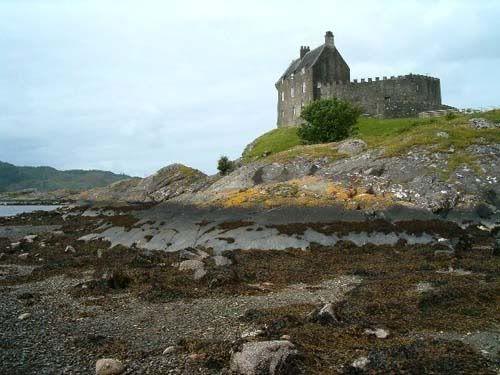 Duntrune Castle, Argyll, Scotland - the original Skyfall