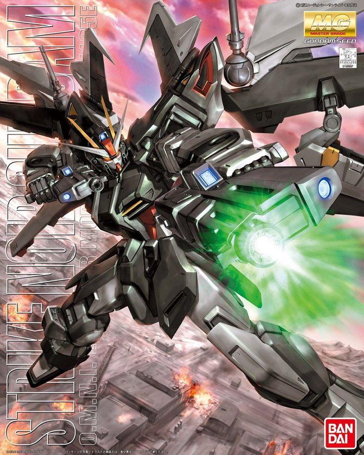 Bandai Gundam GAT-X105E Strike E Gundam (Strike Noir) MG 1/100 Scale