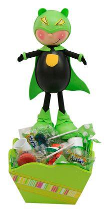 Dulcero Para Fiestas Infantiles Color Verde Termofotmado