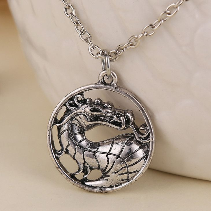 FREE Mortal Kombat dragon Pendant Necklace (Just Pay Shipping) This Mortal Kombat dragon Pendant Necklace is available for a limited time. Click The Add To Cart Button Item Is Part Of Our Free Promo C