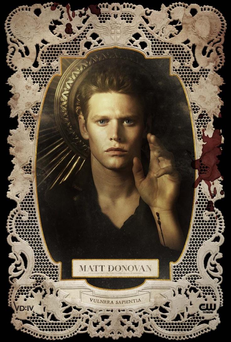 #TheVampireDiaries S4» Holy Card: Matt