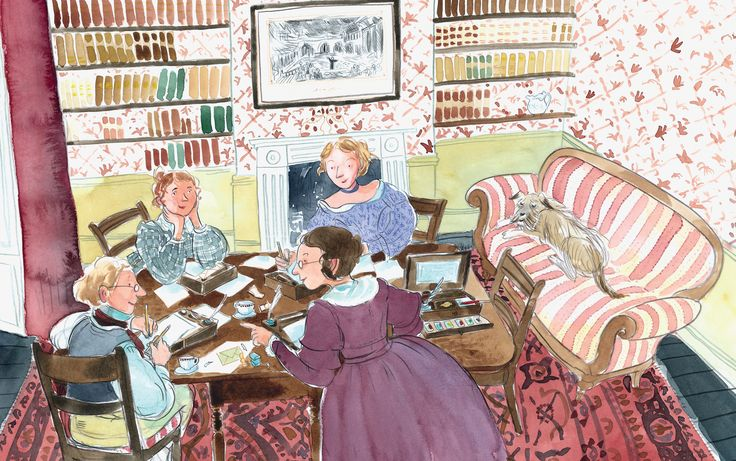 The story of Charlotte Brontë – in pictures