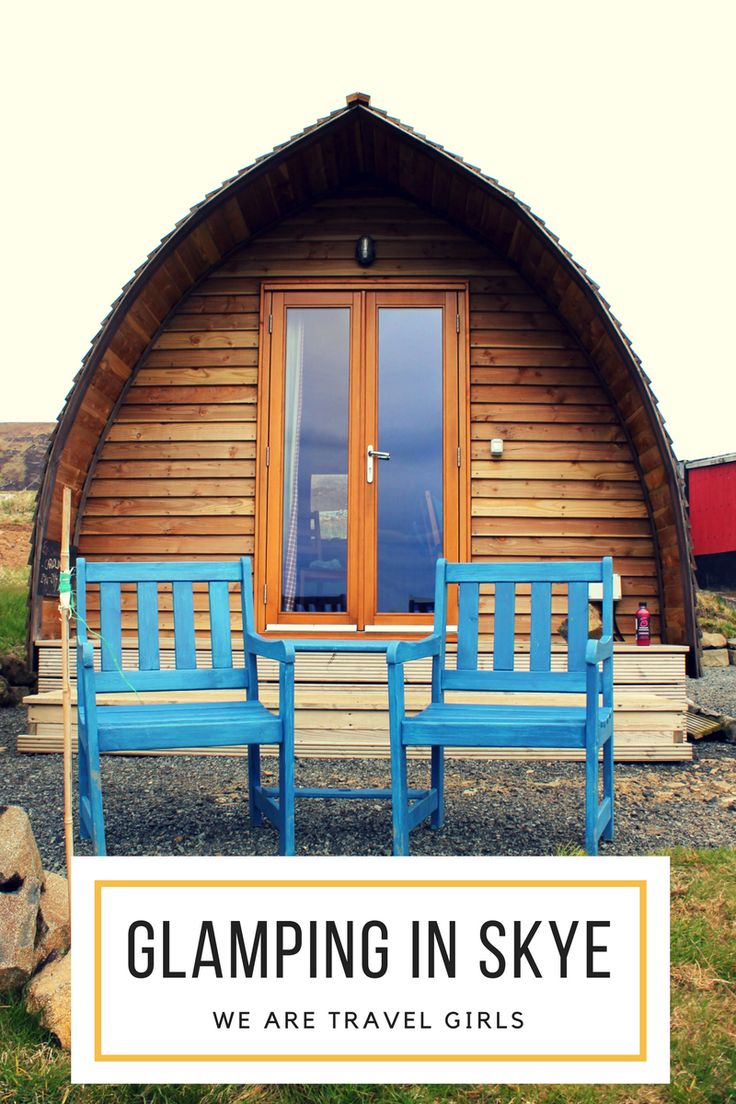 GLAMPING IN SKYE - Isle of Skye, Scotland, is a place like none other–from the scenic hikes to the coastal cliffs, these northern islands are the perfect summer escape. With long daylight hours leaving plenty of time for exploration and warmer temperatures for swimming in the wild, it's the spot that needs to move to the top of your bucket list! By Caroline Bernthal for WeAreTravelGirls.com