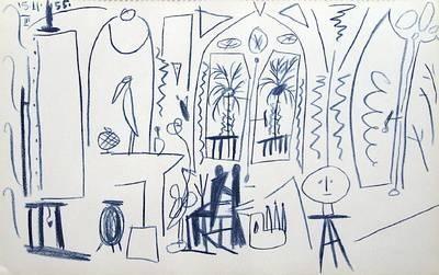 Carnet de Californie 35 Collectable Print by Pablo Picasso at Art.com