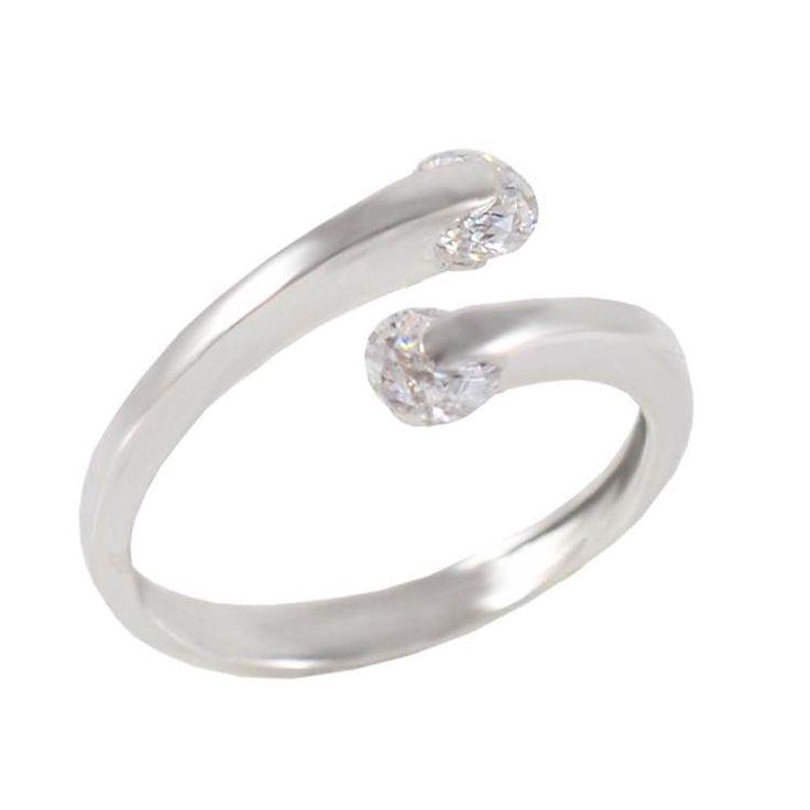 Δ599P -Λευκόχρυσο δαχτυλίδι