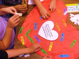 First Grade Wow: Bullying - Crinkled Heart Activity / Kids add bandaid with their name - heart hung up all year in the room book w/ activity: Chrysanthemum by Kevin Henkes