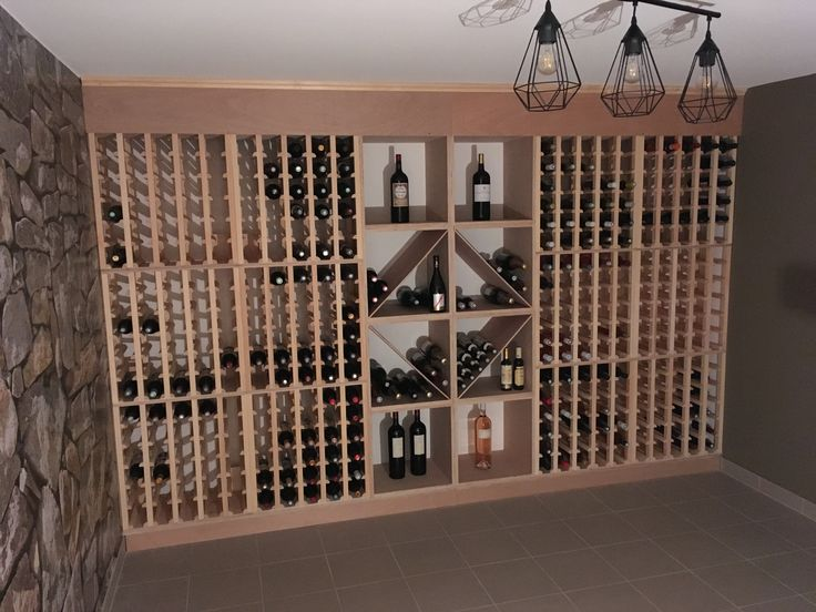 1693 best CAVE À VIN images on Pinterest | Wine cellars, Bottle rack ...
