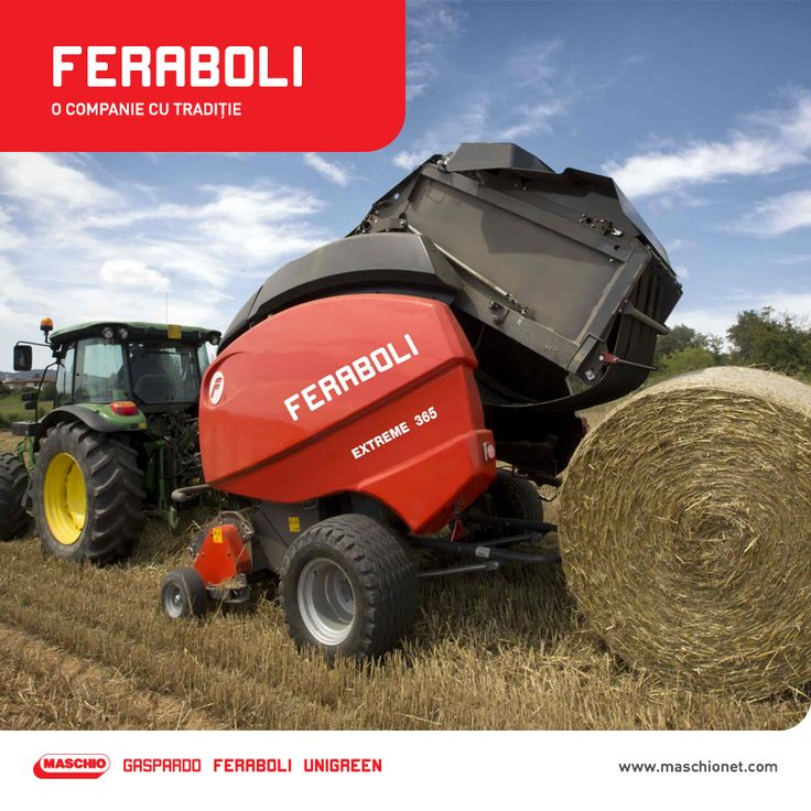 Feraboli este o companie înființată în 1880, specializată în producția utilajelor agricole pentru prelucrarea fânului. Mașinile agricole produse de aceasta se caracterizează prin adaptabilitate crescută și performanță maximă în orice condiții. În 2014, Feraboli este achiziționată de grupul Maschio Gaspardo, iar investiția în dezvoltarea și perfecționarea utilajelor destinate fânului continuă.