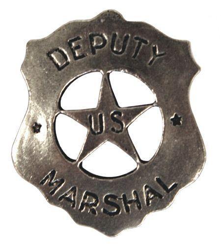 Old West Badge - Deputy Marshal